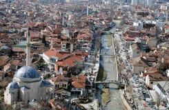 Sinan pasha mosque and bridges, Prizren Stock Image