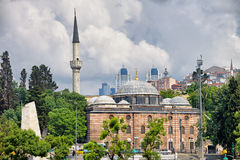 Sinan Pasha Mosque in Istanbul Stock Image