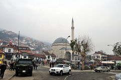 Sinan Pasha Mosque, Prizren, il Kosovo fotografia stock libera da diritti