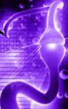 sinapse Fotografia de Stock