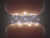 Sinapsis Imagen de archivo
