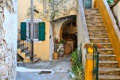 Sinarades, Corfu Royalty Free Stock Images