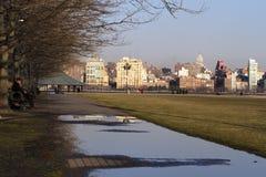 Sinatra-Park in Hoboken, NJ stockbild