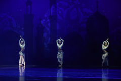 """Sinbad lamp- ballet """"One Thousand and One Nights"""" Stock Image"""