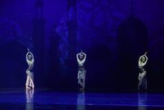 """Sinbad lampy """"One Tysiąc i Jeden Nights†baletniczy  Obraz Stock"""