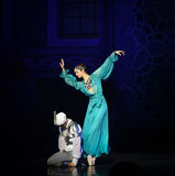 """Sinbad sailing- ballet """"One Thousand and One Nights"""" Royalty Free Stock Images"""