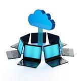 Sinc. de la PC Imágenes de archivo libres de regalías