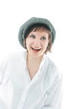 Sincere laugh Royalty Free Stock Image