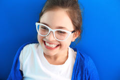 Sincere smile, happy child Stock Image