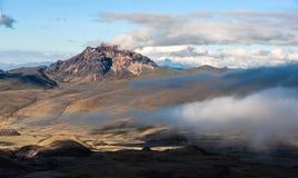 Sinchulagua Volcano,  Andean Highlands of Ecuador Royalty Free Stock Photos
