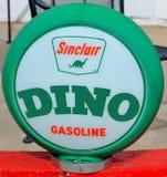 Sinclair Oil Corporation泵浦标志 库存照片