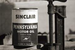 Sinclair oleju puszka Obraz Stock