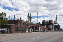 Sinclair Refinery i Wyoming Fotografering för Bildbyråer