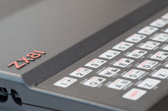 Sinclair ZX81 Computer Stockfotografie