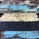 Sincronizzazione del colore e del legno fotografie stock
