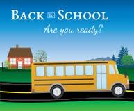 Sind Sie vorbereiten für zurück zu Schule Stockbild