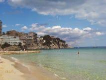 Sindaco Beach di Cala fotografia stock libera da diritti