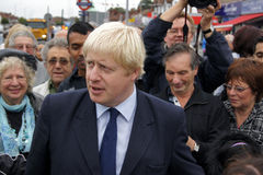 Sindaco Boris Johnson di Londra Fotografie Stock