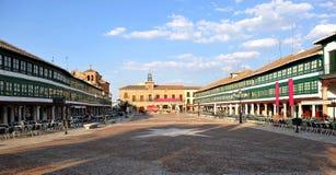 Sindaco della plaza di Almagro, Spagna Fotografia Stock