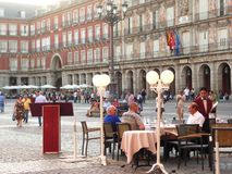 Sindaco della plaza di Madrid Fotografia Stock Libera da Diritti