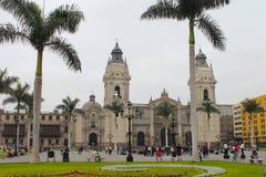 Sindaco della plaza, Lima Fotografie Stock Libere da Diritti