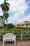 Sindaco della plaza, Trinidad, Cuba immagine stock libera da diritti