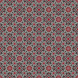 Sindhi Ajrak Pattern Backgound vector Royalty Free Stock Image