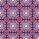 Sindhi Ajrak Pattern Vector Royalty Free Stock Image