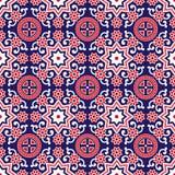 Sindhi Ajrak Pattern Vector royalty free illustration