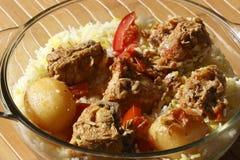 Sindhi Biryani - ένα μη -μη-veg πιάτο Στοκ εικόνα με δικαίωμα ελεύθερης χρήσης
