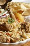 Sindhi Biryani - μια μη -μη-veg κουζίνα Sindhi πιάτων Στοκ Φωτογραφίες