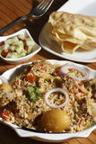 Sindhi Biryani - μια μη -μη-veg κουζίνα Sindhi πιάτων Στοκ φωτογραφία με δικαίωμα ελεύθερης χρήσης
