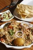Sindhi Biryani - A Non-veg dish Sindhi cuisine Royalty Free Stock Photo