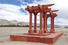 Sindhu Ghat in Leh, Ladakah Royalty Free Stock Image