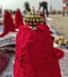 Sindoor royaltyfria foton