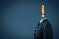 Sindrome di burnout Fotografia Stock Libera da Diritti