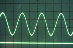 Sine wave Stock Image