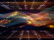 Sine Wave Computing Royalty Free Stock Images