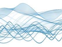 Sine Wave Progress Stock Image