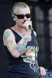 Sinead O Connor live at the Westport Festival Stock Images
