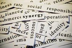 Sinergia Foto de archivo