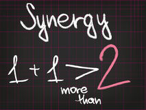 Sinergia Fotografia de Stock