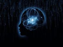Sinergia de la mente Imágenes de archivo libres de regalías