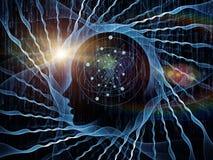 Sinergia de la mente Fotos de archivo