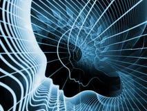 Sinergia del alma y de la mente Imágenes de archivo libres de regalías