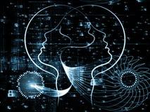 Sinergia humana ilustración del vector