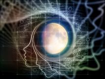 Sinergias da lua Imagem de Stock