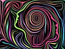 Sinergias de líneas internas libre illustration