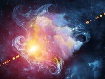 Sinergias de la nebulosa Foto de archivo