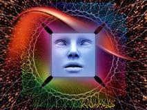 Sinergias del ser humano estupendo AI Fotos de archivo libres de regalías